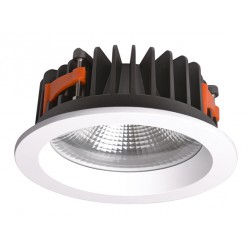 "Downlight W6 25W dimable 3000K CRI80 24"" Corte 17 cm"