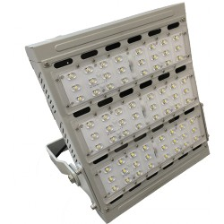 Proyector túnel LED 185W 5500K fuente Meanwell dimable 0-10V IP66 Eficiencia 120lm/W