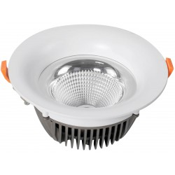 Downlight LED GARLED 10W CIRCULAR Luz Fría