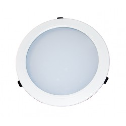 Downlight LED CIRCULAR TECHLED+ 30W calido dimable 0-10V