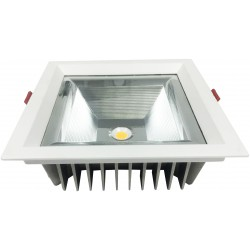 Downlight LED DIAVALED 15W CUADRADO Luz Fría