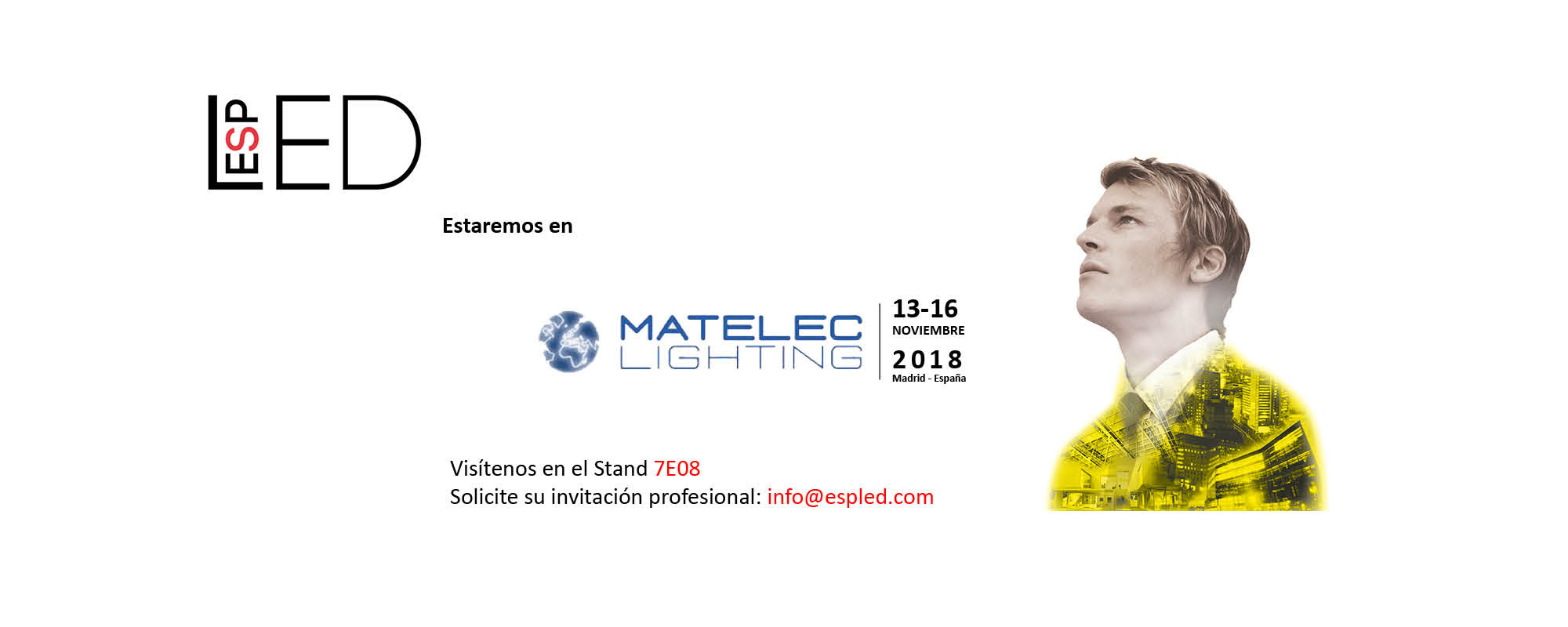 Espled en MATELEC LIGHTING 2018